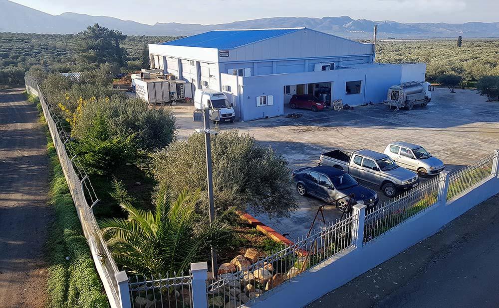 Εγκαταστάσεις Τυροκομείου Στειακάκης